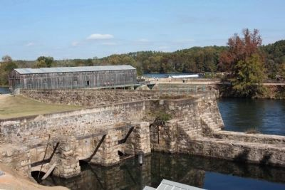 The Augusta Canal Headgate Locks and Gear house image. Click for full size.