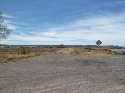 View west from the Quemado Marker image. Click for full size.