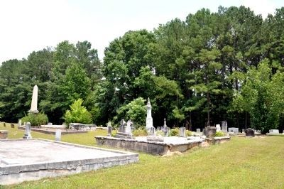 The Bethsaida Baptist Church Cemetery image. Click for full size.