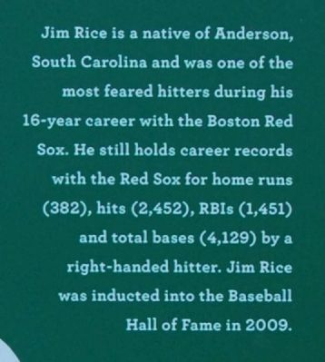 Jim Rice Marker image. Click for full size.