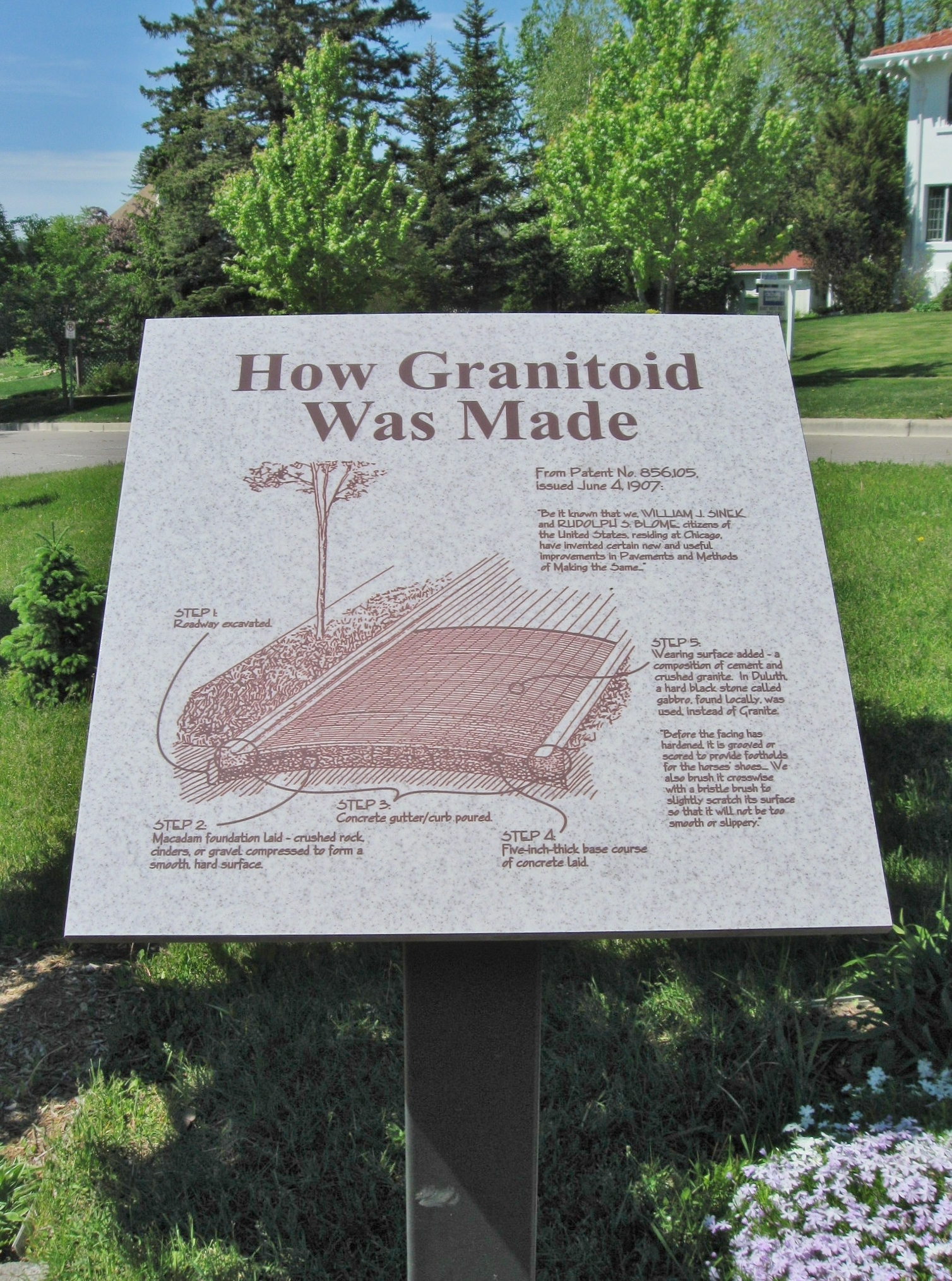 How Granitoid Was Made
