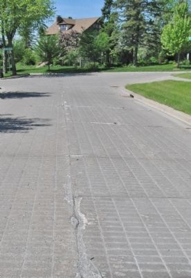 Minnesota's Oldest Concrete Pavement image. Click for full size.