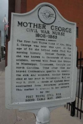 Mother George Marker image. Click for full size.