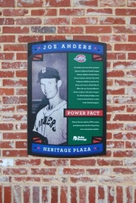 Joe Anders Marker image. Click for full size.