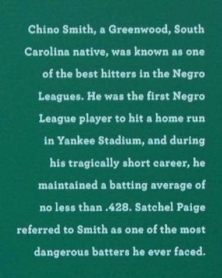 Chino Smith Marker image. Click for full size.