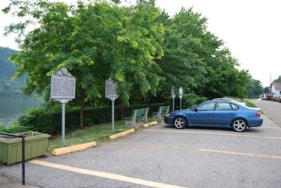 Contested County Seat Marker image. Click for full size.
