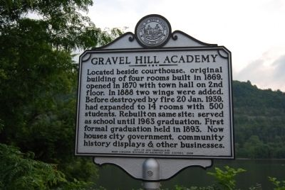 Gravel Hill Academy Marker image. Click for full size.