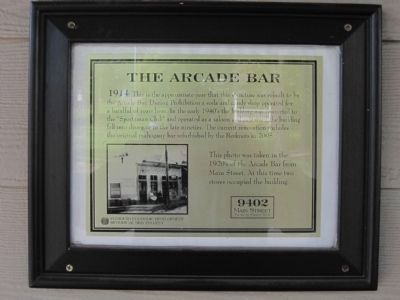 The Arcade Bar Marker image. Click for full size.