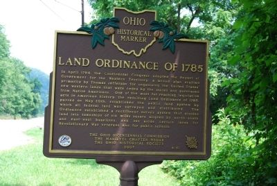 Land Ordinance of 1785 Marker image. Click for full size.