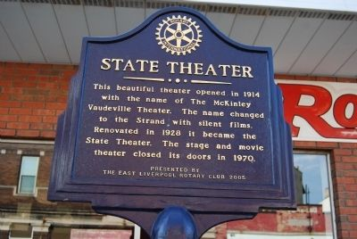 State Theater Marker image. Click for full size.