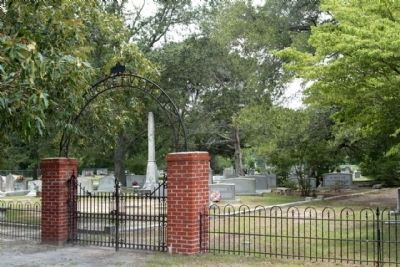 Harmony Presbyterian Church's Crocketville Cemetery image. Click for full size.