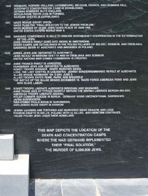 The Columbia Holocaust Memorial Monument right panel image. Click for full size.