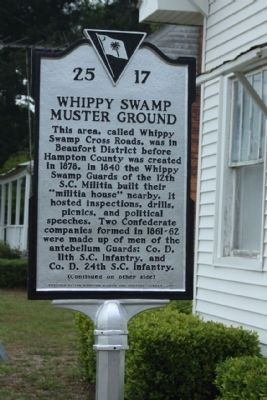 Whippy Swamp Muster Ground Marker image. Click for full size.