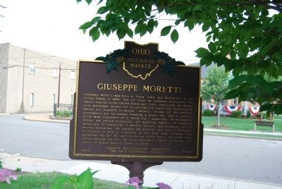 Guiseppe Moretti Marker image. Click for full size.