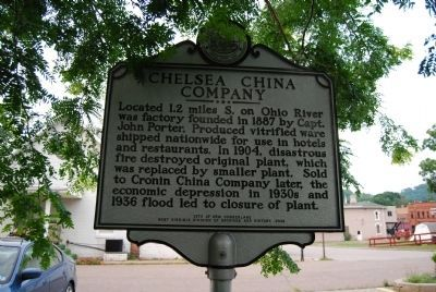 Chelsea China Company Marker image. Click for full size.
