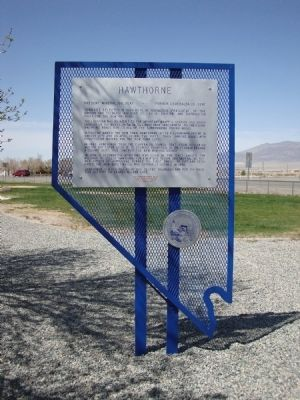 Hawthorne Marker image. Click for full size.