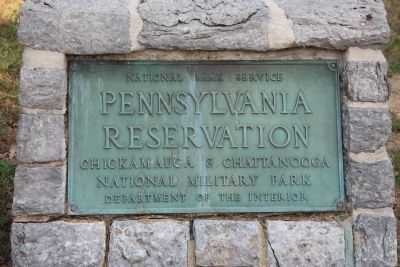 Pennsylvania Reservation Marker image. Click for full size.