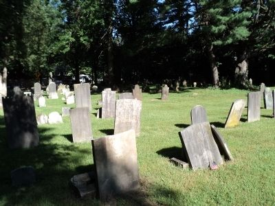 Graves in the Old Clarkstown Reformed Church Cemetery image. Click for full size.