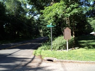 Marker on Sickletown Road image. Click for full size.