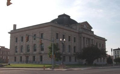 North/West Corner - - Miami County Courthouse image. Click for full size.