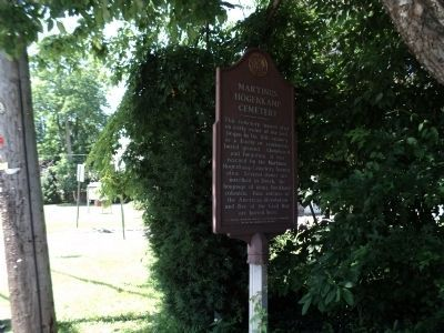 Marker on S. Little Tor Road image. Click for full size.