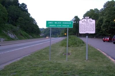 Benge's Gap Marker image. Click for full size.