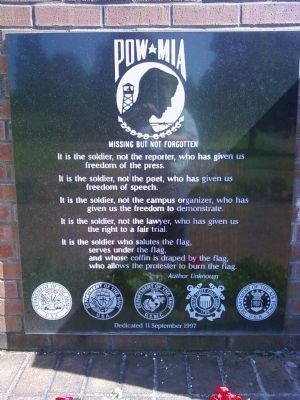 POW/MIA Memorial image. Click for full size.