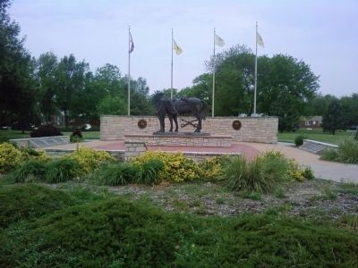 Buffalo Soldier Memorial image. Click for full size.