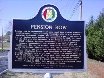 Pension Row Marker image. Click for full size.