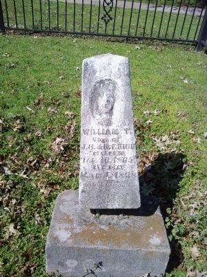 William T. Bibb grave image. Click for full size.
