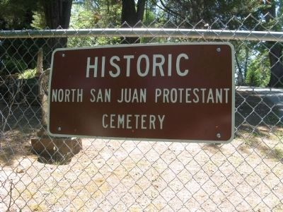 North San Juan Cemetery image. Click for full size.