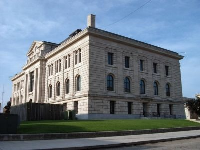 North/East Corner - - Miami County Courthouse image. Click for full size.