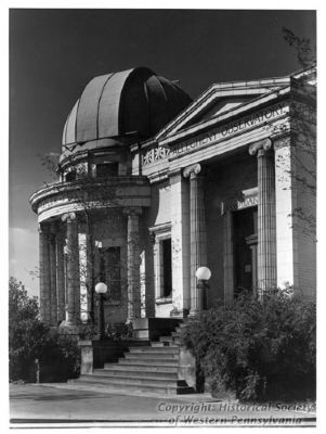 The Allegheny Observatory in Riverview Park image. Click for full size.