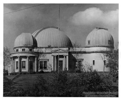 Allegheny Observatory image. Click for full size.