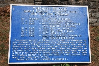 Turchin's Brigade Marker image. Click for full size.