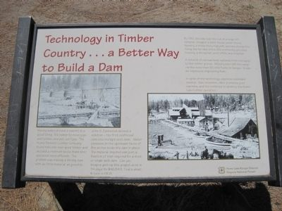 Technology in Timber County... Marker image. Click for full size.