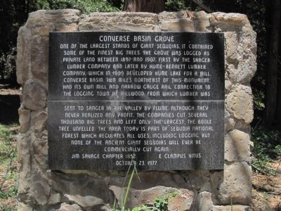 Converse Basin Grove Marker image. Click for full size.