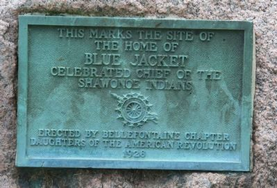 The Home of Blue Jacket Marker image. Click for full size.