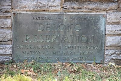 DeLong Reservation Marker image. Click for full size.