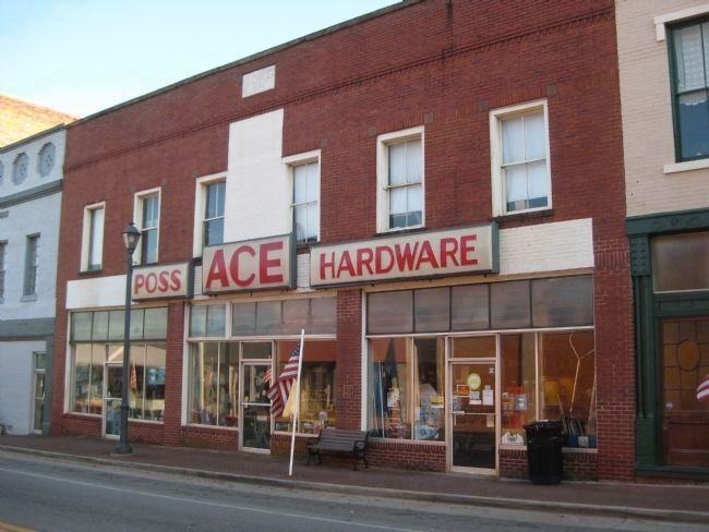 The Lowe Building and Poss ACE Hardware image. Click for full size.