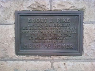 Emory J. Pike Marker image. Click for full size.