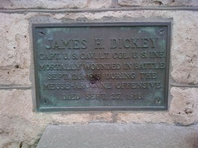 James H. Dickey Marker image. Click for full size.