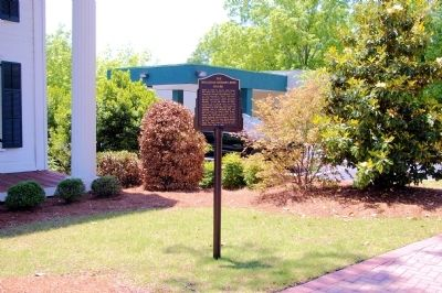 The Holliday-Dorsey-Fife House Marker image. Click for full size.