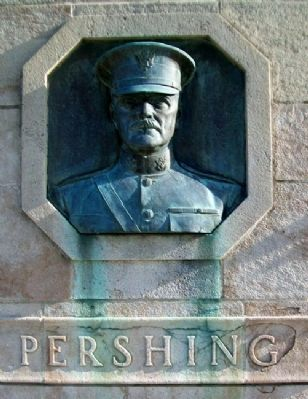 Liberty Memorial Dedication Site - Pershing image. Click for full size.