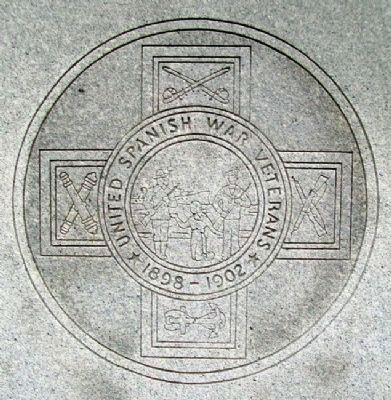 Spanish-American War Veterans Emblem image. Click for full size.
