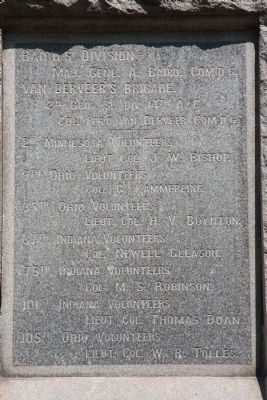 2nd Minnesota Monument image. Click for full size.