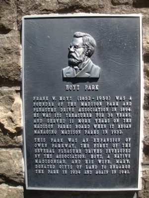 Hoyt Park Marker image. Click for full size.