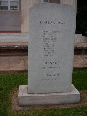 Korean War - Grenada - Lebanon image. Click for full size.