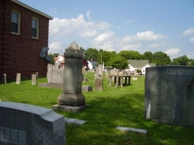 """Old White Church"" Cemetery image. Click for full size."