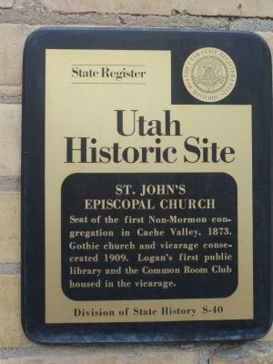 St. Johns Episcopal Church Marker image. Click for full size.